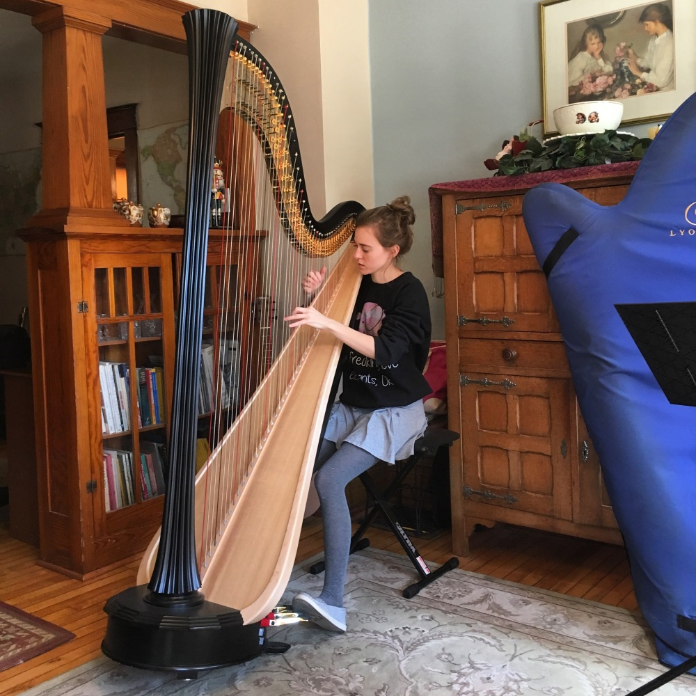 "Why the harp?"" – Abigail Hughes Harpist"